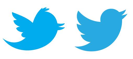 لوگوی فعال و دارای حرکت توییتر نسخه دوم