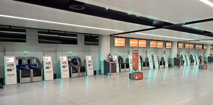 فرودگاه هوشمند - اینترنت اشیاء - IOT